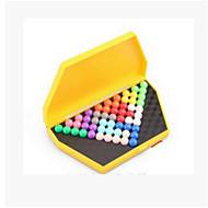 The Development of Children's Intelligence Magic Beads Pyramid Toy Box