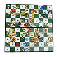 educatieve draagbare vouwen magnetische slangen& ladders reizen tafelblad bureau bordspel