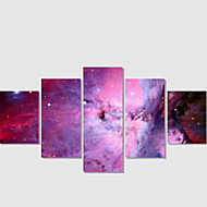 Home Decor Set Of 5 Universe Pictures Canvas Print Art Abstract Painting On The Wall