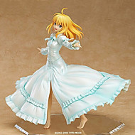 Fate/stay night Saber Lily 25CM Anime Actionfigurer Modell Leksaker doll Toy