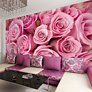 JAMMORY Art Deco Wallpaper Contemporary Wall Covering,Other Large 3D Mural Wallpaper Roses