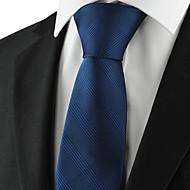 Prugasti uzorak-Kravata(Plava,Poliester)