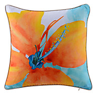 Polyester Pillow With Insert,Floral Country