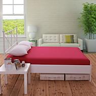 1 stk myk&komfortabel flerfarget soild bomull utstyrt ark