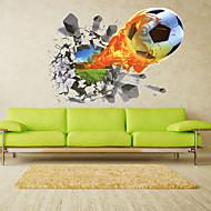 Komiks / Romantika / Módní / Prázdninový / Krajina / Tvary / Doprava / Fantazie / Sporty / 3D Samolepky na zeď 3D samolepky na zeď,PVC
