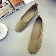 Women's Shoes Leather Flat Heel Boat / Comfort Boat ShoesWedding / Outdoor / Office & Career / Work & Duty