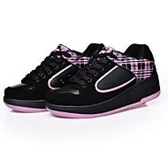LED Light Up Shoes, Unisex Kid Boy Girl Up Single Wheel Sneaker Athletic Shoe Sport Shoes Roller Shoes Dance Boot
