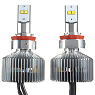2PCS 90W Touareg Car LED HeadLight Bulbs Elantra Car LED Headlight Kit H1 H3 H7 H11 Car LED Headlight