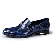Men's Shoes Amir Limited Edition Pure Manual Night Club/Office Cowhide Leather Loafers Black/Brown/Royal Blue