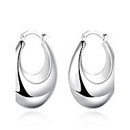 Női Beszúrós fülbevalók Klipszes fülbevalók Divat jelmez ékszerek Réz Ezüstözött Ékszerek Kompatibilitás Esküvő Parti Napi Hétköznapi