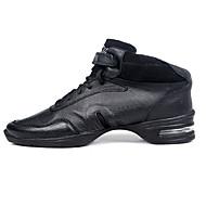 Customizable Women's/Men's Modern Dance Shoes/Sneakers in Black