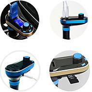T66 auto mp3-speler automotive levert lichter Dual USB auto-oplader mp3