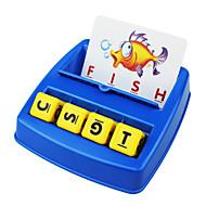 Kinder der frühen Kindheit Briefe von Kollokations passend aussehen Englisch Alphabet Spielzeug-Set lernen