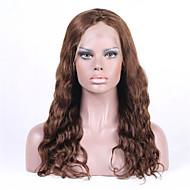 """8 """"26"""" peluca llena del cordón onda brasileña virginal del pelo suelto&encajes frente peluca multicolor opcional con el pelo del bebé"""