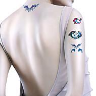 CJC-Tatuajes Adhesivos-Non Toxic / Modelo / Waterproof / Caricaturas-Otros-Mujer / Hombre / Adulto / Juventud-Multicolor-Papel-5-7*10*1cm-