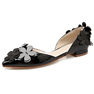 Women's Shoes Flat Heel Pointed Toe Flats Office & Career / Dress / Casual Black / Pink / Gray