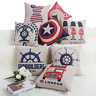 Baolisi Set of 8  British Series Decorative Pillow /Modern Fashion Couples