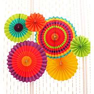 6pcs/set Mix 3 Size(20cm,30cm,40cm)Tissue Paper Pom Poms Fans Wedding Party Baby Shower Festival Decoration