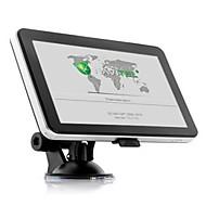 """5 """"자동차 GPS (유럽의지도 이내) 탐색 HD 터치 스크린 FM 128ram의 4 기가 바이트 WINCE6.0"""