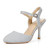 בלרינה\עקבים-נשים / לבנות-נעלי חתונה-עקבים / שפיץ-חתונה / שמלה / מסיבה וערב-כחול / כסוף / זהב