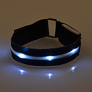 Outdoor-Sport einstellbare LED-Beleuchtung Armbinde Radfahren Nachtlauf Ausrüstung