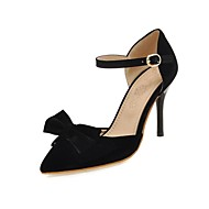 Women's Shoes Microfibre Stiletto Heel Heels / D'Orsay & Two-Piece / Pointed Toe Sandals / Heels Outdoor / Party &
