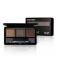 3 Paleta de Sombras Molhado / Mate / Mineral Paleta da sombra Pó NormalMaquiagem para o Dia A Dia / Maquiagem para Halloween / Maquiagem
