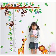 Zvířata / Botanický motiv Samolepky na zeď Samolepky na stěnu,pvc 60*90cm