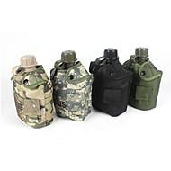 1 L Trinkrucksäcke & Wasserblasen Camping & Wandern / Radsport Outdoor Multifunktions Grau / Camouflage Plastik other