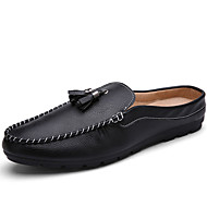 Men's Loafers & Slip-Ons Spring / Fall Comfort / Round Toe Suede Casual Black / White / Blue Walking /