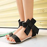 Women's Shoes Heel Peep Toe Sandals Outdoor / Dress / Casual Black / Green / Red / Beige/1603