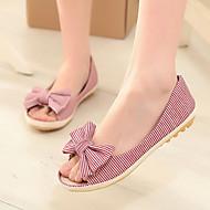 Women's Shoes Heel Peep Toe Sandals Outdoor / Dress / Casual Black / Red / Beige/-52