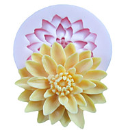 One Hole Deep Flower Silicone Mold Fondant Molds Sugar Craft Tools Resin flowers Mould  For Cakes