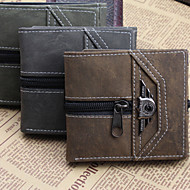 Fashion Men's Wallet Bifold Punk Wallets
