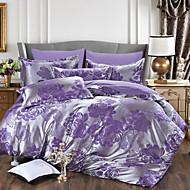 Baolisi 2016 AB Version Embossing Grinding Hair Silk Jacquard Satin Drill 4 times/Purple/pink