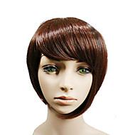 New Arrival Brown Short Straight  Sexy  Hair Wigs for Daily Natural  Synthetic Wigs