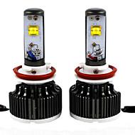2pc 30w 2012-2013year 730i 740i 750i 760i coche conducido bombillas de los faros del coche h8 llevó luz de cruce del faro