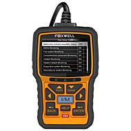 FOXWELL Windows ISO15765-4 (CAN BUS) / SAE J1850 PWM / SAE J1850 VPW / ISO9141-2 / ISO 14230-4 (KWP2000) OBD Code Lesegerät EOBD nein
