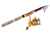 3.0M Carbon Red Sea Fishing Medium Light Hengel