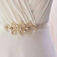 Satin Hochzeit / Party / Abend / Alltagskleidung Schärpe-Perlstickerei / Applikationen / Perlen Damen 250cmPerlstickerei / Applikationen
