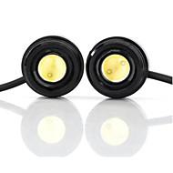 exled 1,5 w 110lm LED bílé světlo orel oči světlo auto - (12V / pár)
