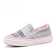 Girls' Shoes Outdoor / Casual / Athletic Canvas / Fabric Loafers / Espadrilles Spring / Summer / Fall Comfort / Round Toe Flat HeelOthers