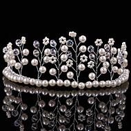 Donne / Bambina Perle Copricapo-Matrimonio / Occasioni speciali Tiare 1 pezzo