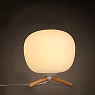 נורות שולחן לד / מגן עין מודרני/עכשווי עץ/במבוק