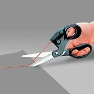 jeden profesionální laserově naváděné nůžky pro domácí řemesla balení dárků tkanina šití rovného střihu rychle s baterií