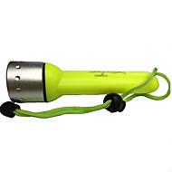 Osvětlení Svítilny na potápění LED 350 Lumenů 1 Režim Cree XR-E Q5 AA Voděodolný / Dobíjecí Potápění a vodáctví / MultifunkčníHliníkové