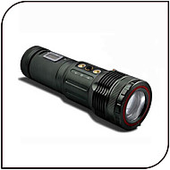 Lights LED Flashlights/Torch LED 1000 Lumens 3 Mode - 18650 Adjustable Focus / Waterproof / RechargeableCamping/Hiking/Caving / Fishing /