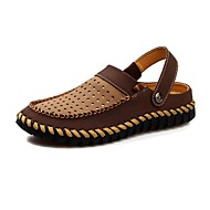 Men's Shoes Outdoor / Office & Career / Athletic / Dress / Casual Suede Clogs & Mules / Slip-on Taupe