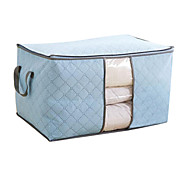 Storage Bags Textile / Nonwovens withFeature is Lidded , For Cloth / Quilts