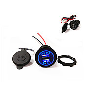 lossmann New! Dual USB Car Charger 5V 4.2A  The New Design!Waterproof!